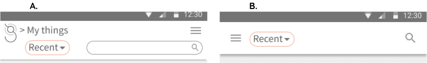mobile toolbar test